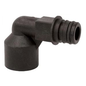 """Picture of Poly Kit Elbow, 1/2"""" FNPT"""
