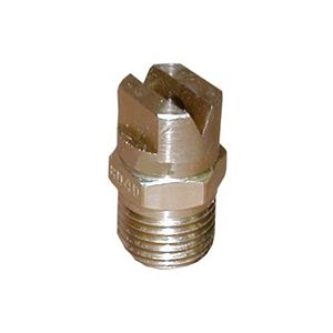 "Picture of #40 x 25° Brass VeeJet® Soap Nozzle 1/4"" MPT"