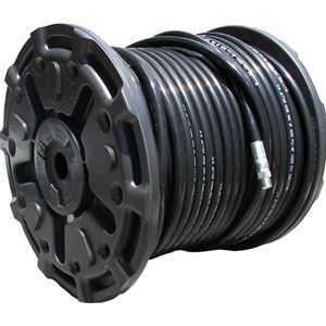 "Picture of 3/8"" x 200' Sewer Jetter Hose 4,000 PSI Black (SOLxSWV)"