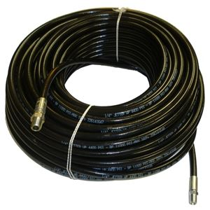 "Picture of 1/4"" x 200' Sewer Jetter Hose 4,400 PSI Black"