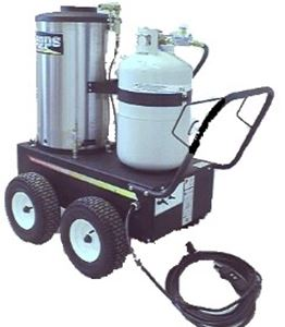Picture of 1,400 PSI Propane/Electric Hot Water Pressure Washer 2.1 GPM
