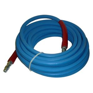 "Picture of 6,000 PSI Hose 3/8"" x 50' Blue Non-Marking  IMPAC"