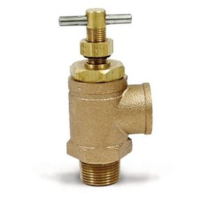 "Picture of Brass Pressure Relief Valve, 300-700 PSI, 3/4""M, 3/4""F"