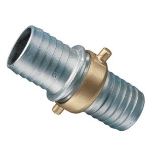 "Picture of Pin Lug Coupling Set Aluminum / Brass, 2.0"" ID"