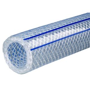 "Picture of 1"" x 100' PVC Clear POLYWIRE® Plus Hose FDA"