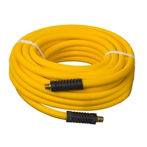 "Picture of 3/8"" x 50' TUNDRA-AIR Low Temp. Yellow PVC Hose"
