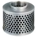 "Picture of Round Hole Strainer 4.0"" NPSM Threads"