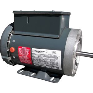 Picture of Electric Motor, 2.0 HP / 3,600 RPM / TEFC / 56C / 1PH / 115-230V