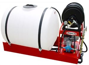 Picture of Skid Sprayer, 200 Gallon, 7.8 GPM, 250 PSI, 5.5 HP (LSS-280-EH)