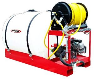 Picture of Skid Sprayer, 200 Gallon, 10.0 GPM, 580 PSI, 5.5 HP (LSS-235-H)