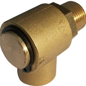 "Picture of MTM Hydro 3/4"" M x 3/8"" F Replacement Hose Reel Swivel 4,000PSI"
