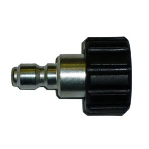 "Picture of 1/4"" QC Plug x M22-14MM F Twist Coupler"