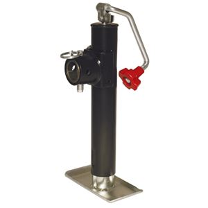 "Picture of Round Tube Mount Top Wind Jack 2000 Lbs, 10"" Lift"