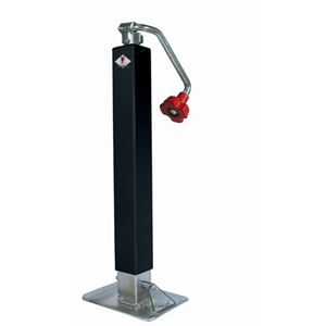 "Picture of HD Square Tube w/ Telescoping Leg Top Wind Jack 7,000 LBS, 26"" Lift"