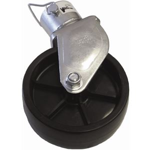 "Picture of A-Frame Jack 6"" Poly Wheel Caster Kit for VI-120, 1000 Lbs"