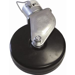 """Picture of A-Frame Jack 6"""" Steel Wheel Caster Kit for VI-120, 1000 Lbs"""
