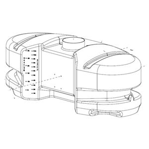 Picture of 30 Gallon ATV / Oval Tank (New Style)