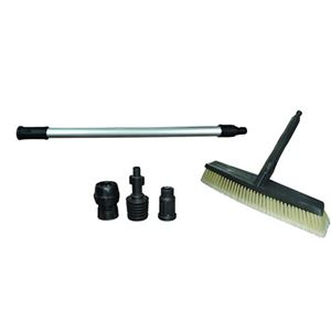 "Picture of Siding Deck Broom with 20"" Fixed Extension & Adapters"