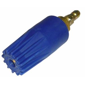 Picture of #4.0 Blue Turbo Nozzle 3,650 PSI with FREE Quick-Couple Plug