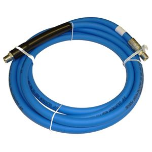 "Picture of CLEANSTREAM Blue Non-Marking 3/8"" x 12' Boom Hose Assembly 4,000 PSI"