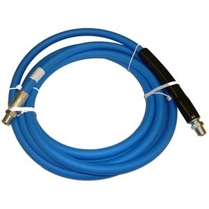 "Picture of CLEANSTREAM Blue Non-Marking 3/8"" x 15' Boom Hose Assembly 4,000 PSI"