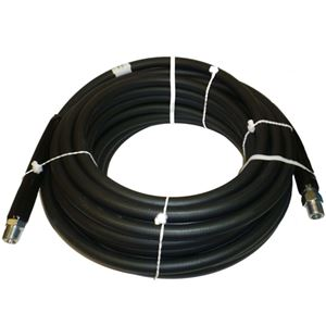 """Picture of CLEANSTREAM 4,000 PSI 5/16"""" x 50' Black Non-Marring Hose"""