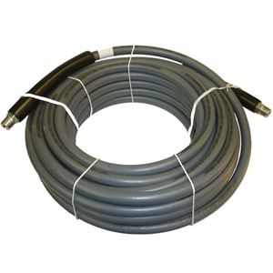 """Picture of CLEANSTREAM 4,000 PSI 3/8"""" x 50' Grey Non-Marring Hose"""