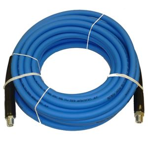 """Picture of CLEANSTREAM 4,000 PSI 3/8"""" x 50' Blue Non-Marring Hose"""