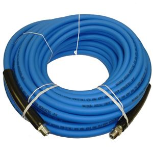 "Picture of CLEANSTREAM 4,000 PSI 3/8"" x 100' Blue Non-Marring Hose"