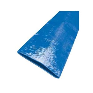 "Picture of 1.25"" x 300' Blue Lay Flat Discharge Hose, EZ-Lite"