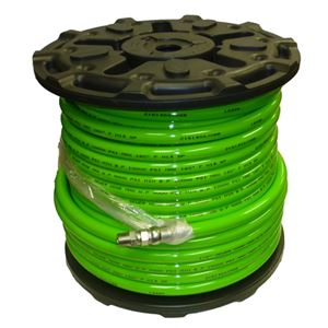 "Picture of 1/2"" x 200' Sewer Jetter Hose 4,000 PSI Green (SOLxSWV)"