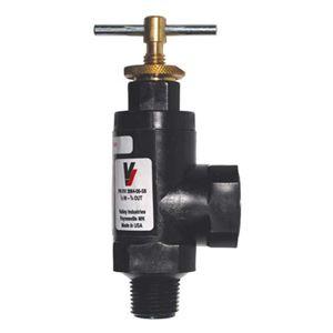 """Picture of Nylon Pressure Relief Valve, 0-150 PSI, 1/2""""M, 3/4""""F"""