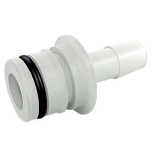 "Picture of 3/4"" QA X 3/8"" HB Straight Fitting w/ O-Ring, Nylon (5900 Series, 7822FS, FB2 7900 Series)"