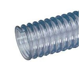 "Picture of 2-1/2"" X 100' Series WT PVC Clear Food Grade Hose"