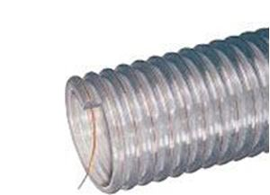 "Picture of 2-1/4"" x 50' Series WE PVC Clear Food Grade Hose"