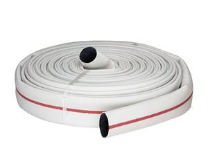 """Picture of 1.5"""" x 100' Mill Discharge Hose, Single Jacket"""
