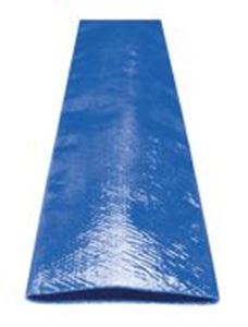 "Picture of 1.5"" x 300' Blue Lay Flat Discharge Hose"