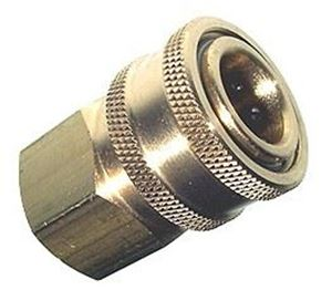 Picture of 1/2 FPT Quick Coupler Socket, Brass