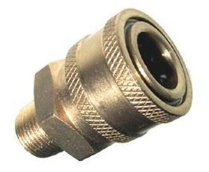 Picture of 1/2 MPT Quick Coupler Socket, Brass
