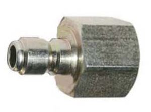 Picture of 22mm F Twist x 3/8 Quick Coupler Plug, Steel