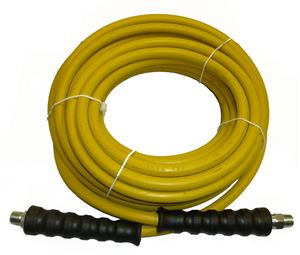 "Picture of 4,000 PSI Hose 3/8"" x 50' Yellow Non-Marking"