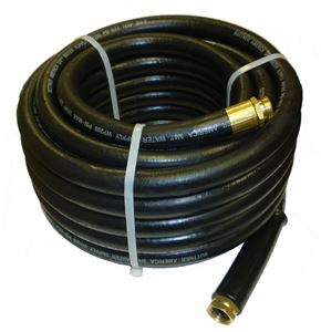 "Picture of Suttner 3/4"" x 150' Heavy Duty Back EPDM Rubber Water Supply Hose"