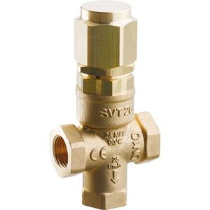 Picture of SVT Brass Safety Valve 4,060 PSI, Dual Inlet