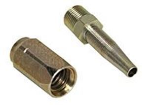 "Picture of 3/8"" MPT Reusable Hose Coupling"