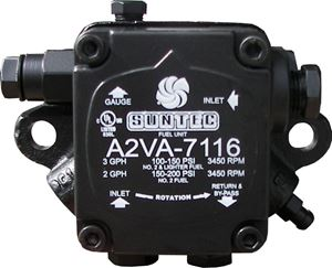 Picture of Suntec Fuel Pump 3.0 GPH, 3450 RPM, RH