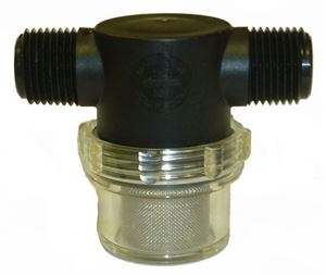 "Picture of Nylon 'TEE' Line Strainer (1/2"" MNPT, 50 Mesh)"