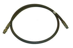 "Picture of 3/8"" x 6' Grey 4,000 PSI Pressure Washer Jumper Hose"