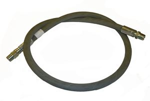 "Picture of 3/8"" x 2' Grey 4,000 PSI Pressure Washer Jumper Hose"