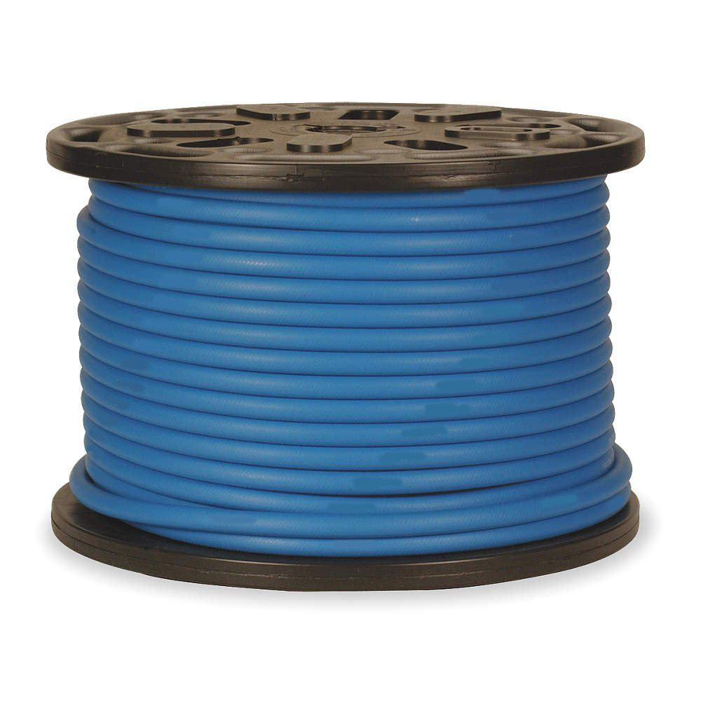 "1//4/"" x 100/' Blue Carpet Cleaning Solution Hose 3000 PSI"