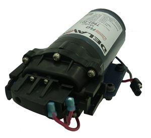 Picture of Delavan Diaphragm Pump 12 V, 60 PSI, 2.0 GPM, QA Ports